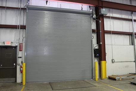 Roll up doors interior -  High Speed Rolling Door 300 Series Interior View