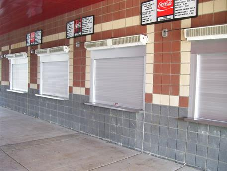 Coasterra Restaurant In San Diego · Al Concession Shutters   4 In A Row ...