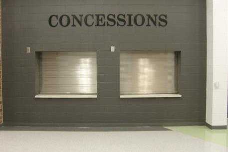 Stainless Steel Counter Doors - Concession Stand 1