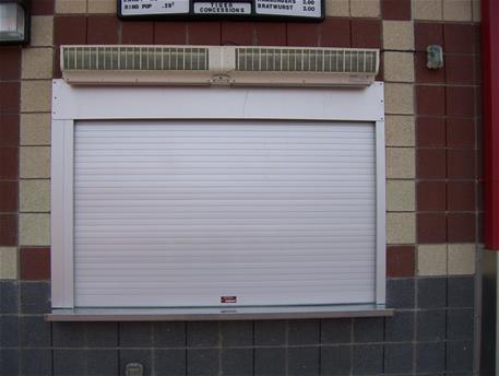 Cookson Doors Amp White Counter Shutter