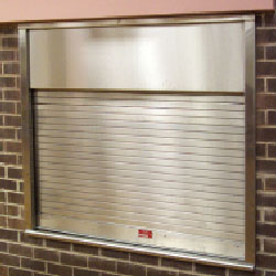 Counter Fire Doors and Integral Frames and Sill