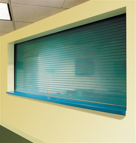 SmokeShield Counter Door, blue