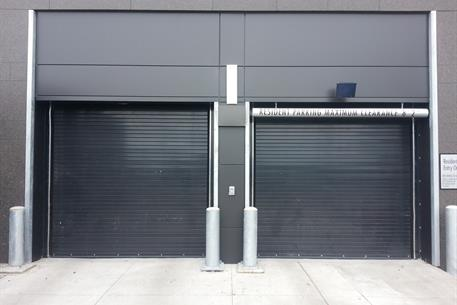 Roll Up Doors And Security Gates For Parking Facilities