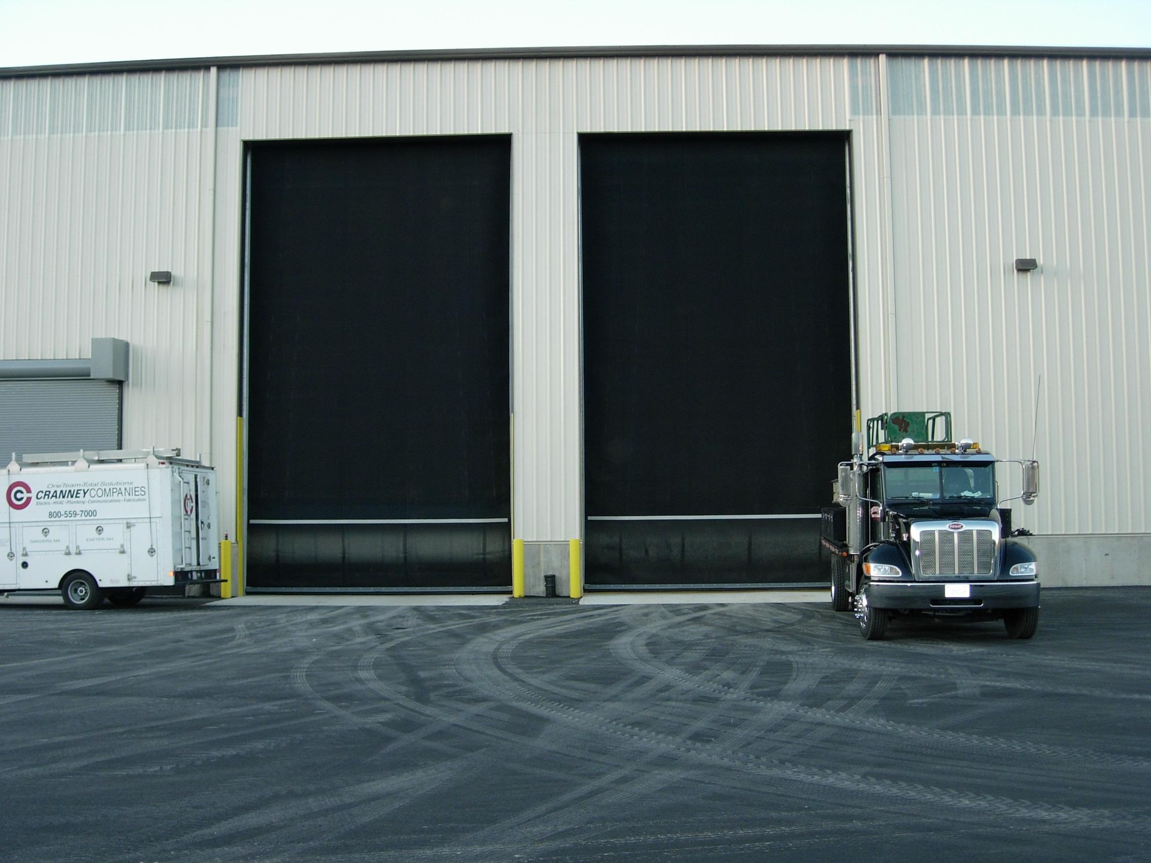 Roll Up Door 2-North Side Carting 001 ... & High Performance Rubber Door Pezcame.Com