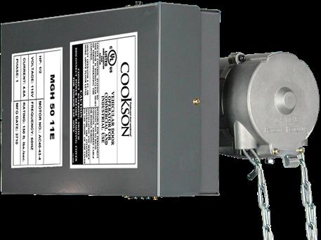 Cookson MGH  sc 1 st  Cookson Door & Garage Door Motor Operators and Overhead Garage Door Openers