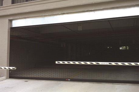 Safety Gates Black SentryGate Parking Garage