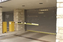 Safety Gate for parking garage