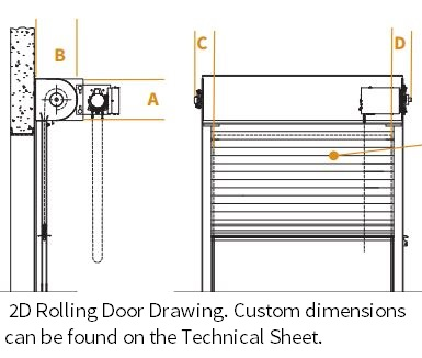 Roll Up Security Doors Cookson Door Custom Products