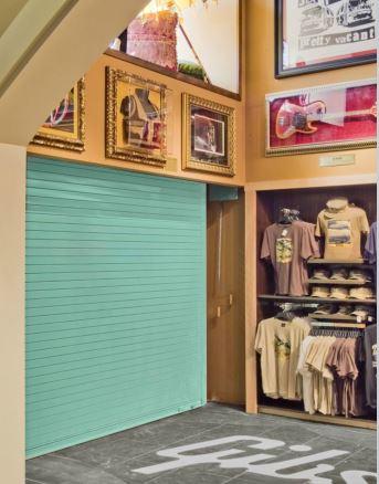 insulated door golfshop