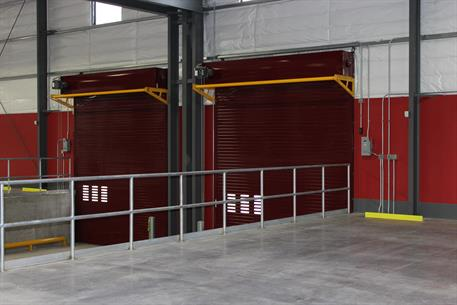 ... Insulated Door Inside Thermiser Max ... & Thermiser Max® Insulated Rolling Door