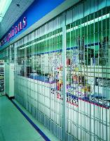Side Folding Grille in Pharmacy