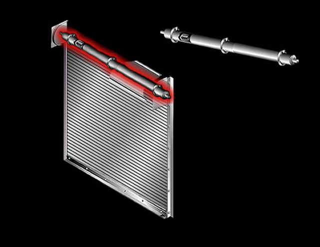 Counter Balance Shaft On Rolling Door