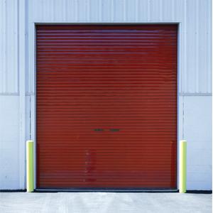 Insulated Garage Door Cost Red