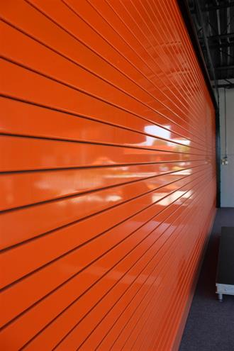 Insulated Roll Up Door Powder Coated