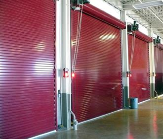 Insulated Roll Up Door Red & What Kind of Insulation Do I Need in My Insulated Roll Up Door?