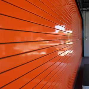 Roll Up Garage Door Powder Coated