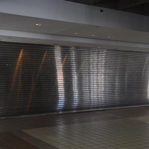 Stainless Roll Up Garage Door