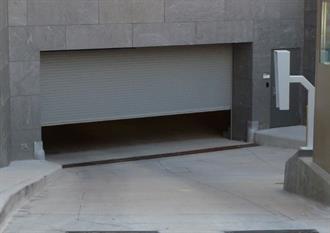Overhead Garage Door With Storage