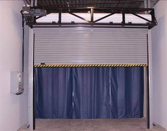 Rapid Roll Doors 1024 with curtain