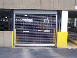 Small Rolling Gate Parking Garage