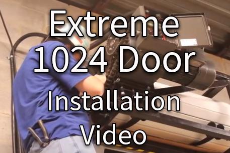 1024 Door Installation
