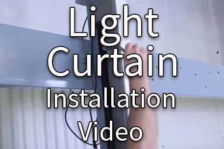 300 Series Light Curtain Install