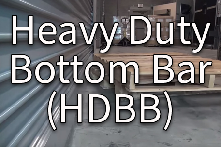 Heavy Duty Bottom Bar